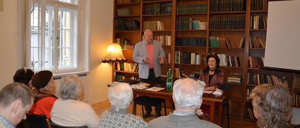 Setkání se spisovatelkou Majou Korotčevovou v RSVK v Praze