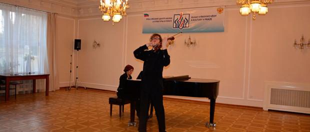 Koncert Alexandra a Natalie  Šonertových v RSVK v Praze