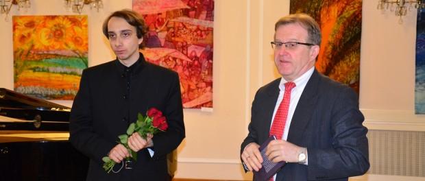 Koncert klavíristy Miroslava Kultyševa v RSVK v Praze