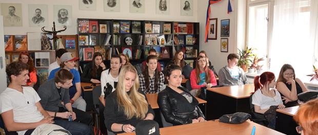 Seznámení českých studentů  s Ruským střediskem vědy a kultury v Praze