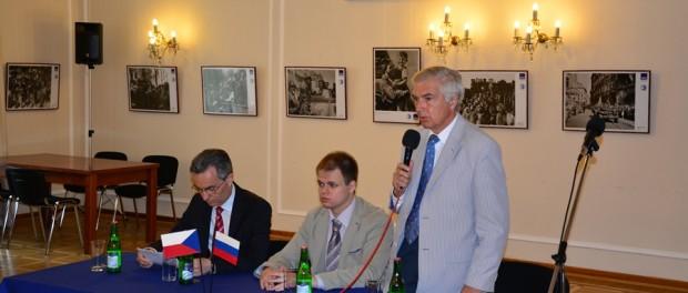 Setkání ruských a českých podnikatelů v RSVK v Praze