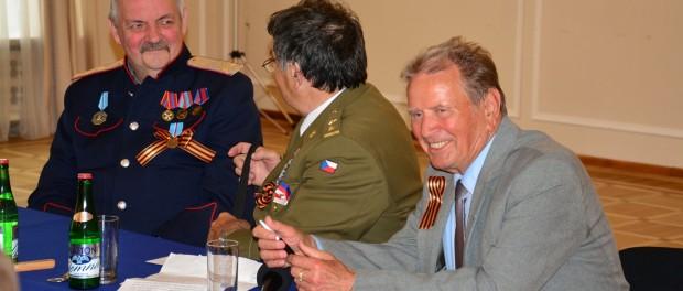 Встреча по итогам визита в Москву чешских ветеранов в РЦНК в Праге
