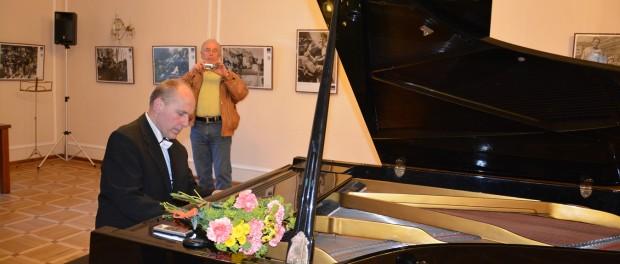 Концерт чешского пианиста Романа Рауэра в РЦНК в Праге