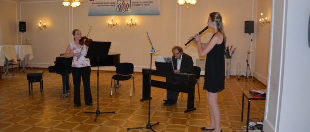 Концерт чешской флейтистки в РЦНК в Праге