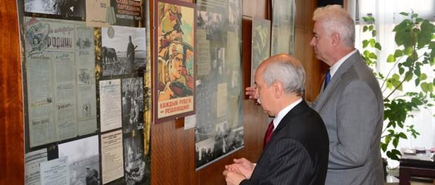 Выставка «Край мужества и славы» в РЦНК в Праге