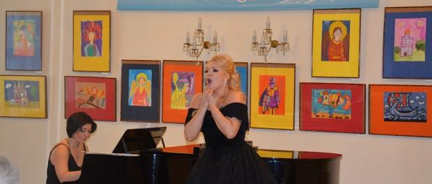 Концерт солистки Пражской оперы Марины Выскворкиной в РЦНК в Праге