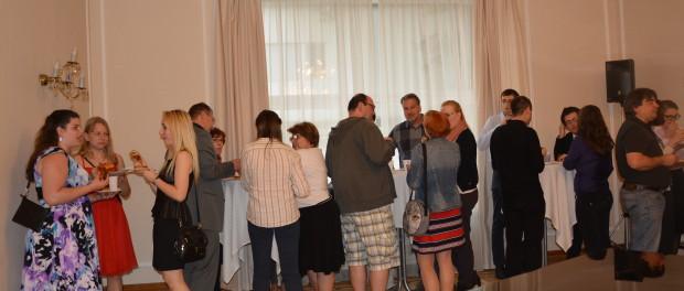 Večer k ukončení školního roku v Kurzech ruského jazyka při RSVK v Praze.