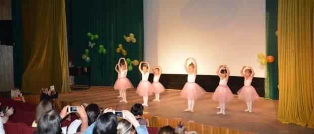 """Отчетный концерт школы """"Benefit Dance"""" в РЦНК в Праге"""
