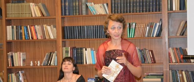 Večer básnířky Ludmily Svirské v RSVK v Praze