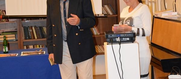 Русскоязычные писатели Чехии встретились в РЦНК в Праге