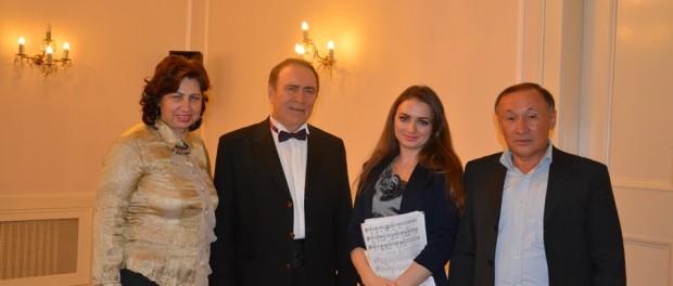 Концерт русской песни в РЦНК в Праге