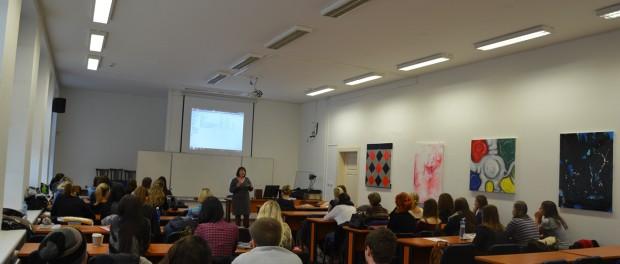 Setkání s českými studenty a učiteli na Univerzitě Jana Evangelisty Purkyně