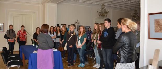 Čeští studenti se seznámili s činností RSVK v Praze