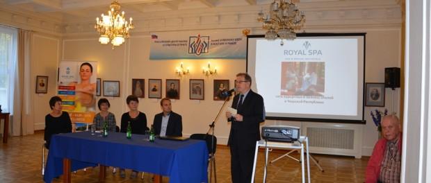Prezentace  lázeňských měst Česka v RSVK v Praze