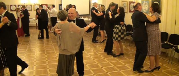 Ples Tanečního klubu v RSVK v Praze