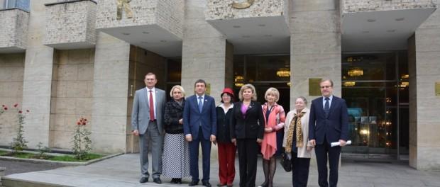 Встреча  депутатов Государственной Думы России с соотечественниками в РЦНК в  Праге