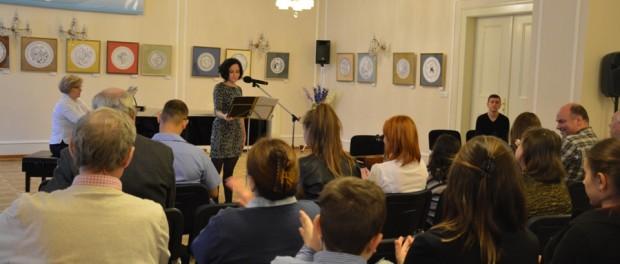Творческий вечер Ольги Милюковой в РЦНК в Праге