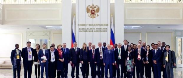 Секцию «Межпарламентский вектор взаимодействия государств» в рамках форума 90-летия народной дипломатии посетили парламентарии из стран Европы и Азии