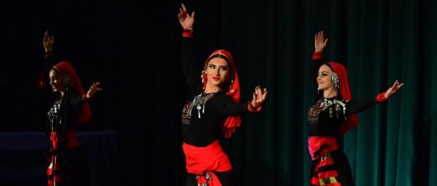 Выступление грузинского ансамбля «Колкха II» в РЦНК в Праге