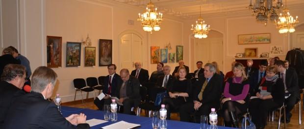 Заседание Делового совета предпринимателей Чешской Республики по сотрудничеству с Россией в РЦНК в Праге