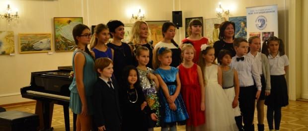 Koncert dětského hudebního studia v RSVK v Praze