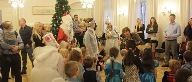 «Новогодние приключения Деда Мороза и Снегурочки» в РЦНК в Праге