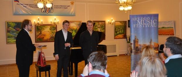 Гала-концерт лауреатов Х Международного конкурса «Музыкальные сезоны в Праге» в РЦНК в Праге