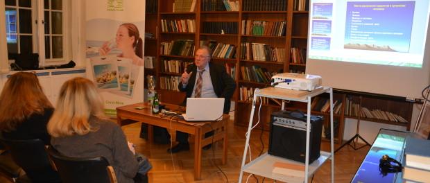 Лекция «Как сохранить и развить свое здоровье» профессора Николая Цирельникова в РЦНК в Праге