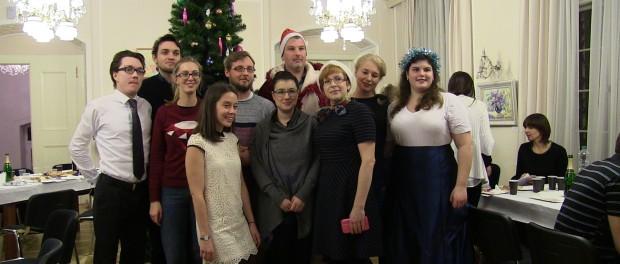 Встреча «Старого Нового года»  на курсах русского языка при РЦНК в Праге