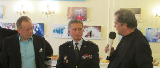 Презентация книги «Одиссея легионеров» в РЦНК в Праге
