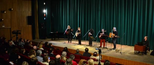 "Koncert ""Zemlja Vysockogo""v RSVK v Praze"