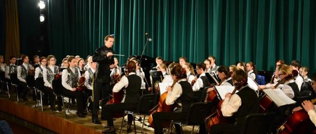 Выступление Молодежного симфонического оркестра Республики Татарстан в РЦНК в Праге