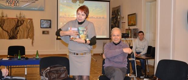 Встреча с автором книг для детей и юношества Тамарой Крюковой в РЦНК в Праге