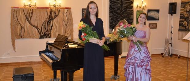 Выступление молодой артистки в РЦНК в Праге