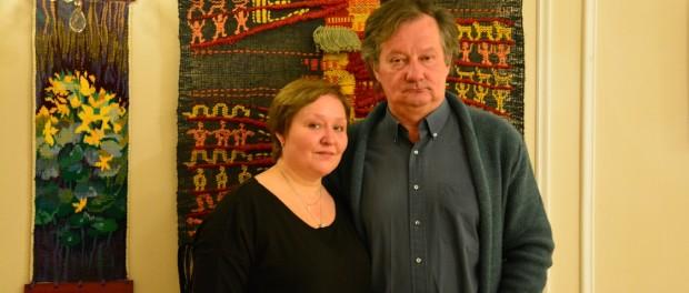 Открытие выставки произведений декоративно-прикладного искусства в РЦНК в Праге.