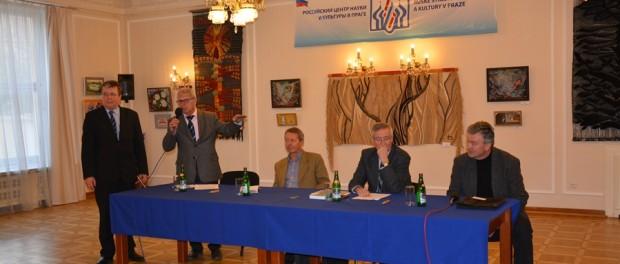 Kulatý stůl o problémech Blízkého východu RSVK v Praze