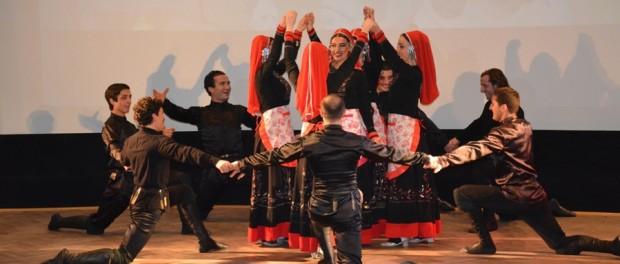 Выступление танцевального ансамбля из Грузии «Колха II» в РЦНК в Праге