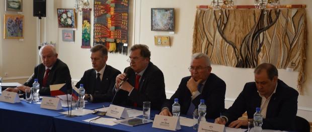 Zasedání česko-ruské Obchodní rady v RSVK v Praze