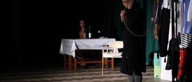 Спектакль актеров Санкт-Петербургского театра «Лицедеи» в РЦНК в Праге