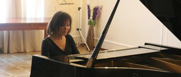 Концерт фортепианной музыки в РЦНК в Праге