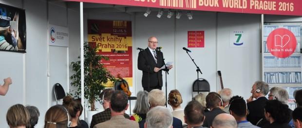 XXII Международная книжная выставка-ярмарка «Мир книги» открылась в Праге
