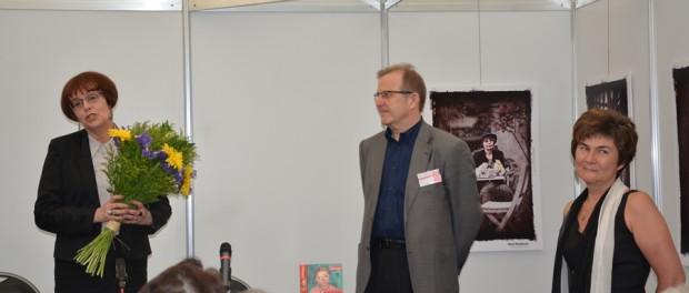 Ruská spisovatelka Jelena Čižovová se setkala s českými čtenáři na mezinárodním knižním veletrhu v Praze