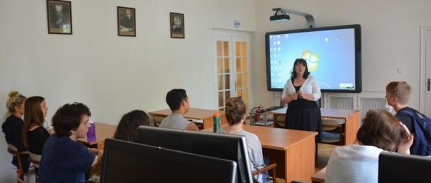 Den ruského jazyka pro studenty americké univerzity v RSVK v Praze