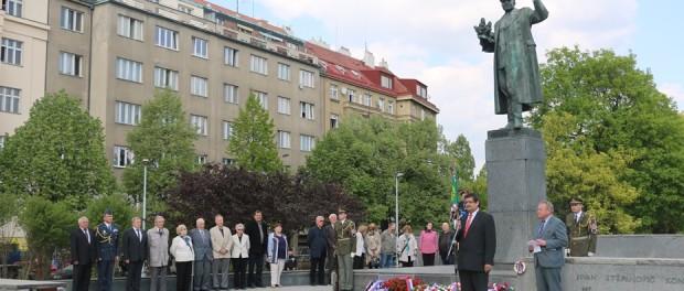 Pražané uctili památku maršála Koněva