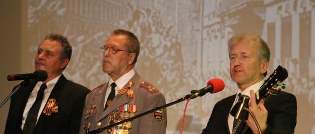 Вечер Победы для российских и чешских ветеранов в РЦНК в Праге