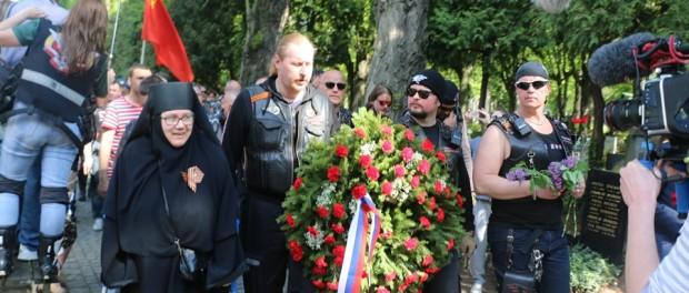 Мотомарш «Дорогами Победы» в Праге