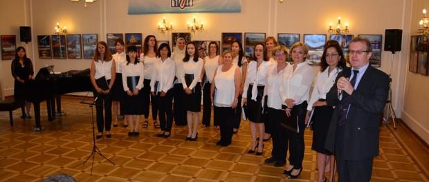 Международный женский хор «VIVA VOCE» выступил в РЦНК в Праге