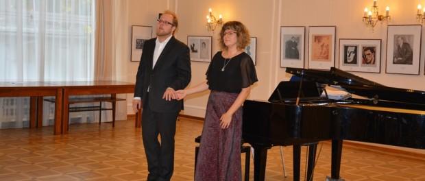Концерт памяти чешского пианиста Ивана Моравца в РЦНК в Праге
