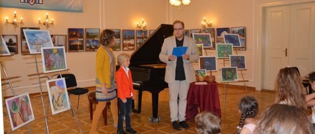 """Koncert žáků hudební školy """"Gradus ad Parnassum"""" v RSVK v Praze"""