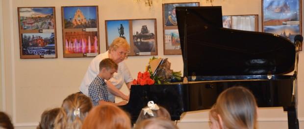 Концерт учеников детской музыкальной школы Натальи Гудименко в РЦНК в Праге